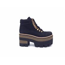 Liquidación Borcegos Botineta Plataforma Bota Zapato Mujer
