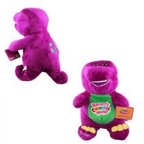 Boneco Pelucia Barney Canta Musica !!! Pronta Entrega