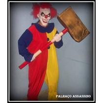 Palhaço Assassino, Fantasia Halloween (só A Roupa)