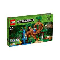 Lego Minecraft 21125 La Casa Del Árbol La Jungla