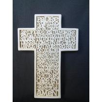 Recuerdos O Bolos Cruz Padre Nuestro, Primera Comunion,