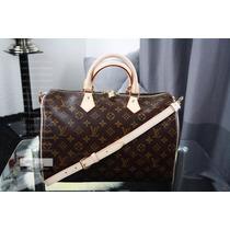 Bolsa Louis Vuitton Speedy Bandoulière 35 - Original!