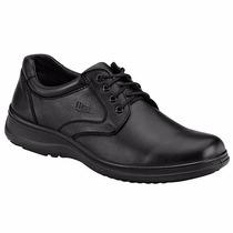 Zapatos Flexi Casuales T/piel 63201 Negro Oi