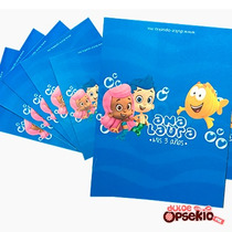 Etiquetas Para Chocolates De Bubble Guppies - Impresas