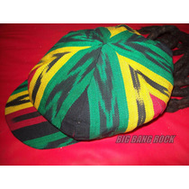 Gorra Reggae Con Rastas Pueden Variar Los Diseños Y Colores