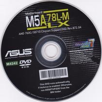 Cd De Instalação De Drives Para Placa-mãe Asus M5a 78l-m Lx