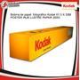 Papel Fotográfico Kodak Para Plotter. 61cm X30m 260g