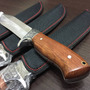 Cuchillo Tactico Columbia U.s.a. Inoxidable Mango Madera