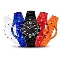 Relógio Champion Cp30119x Troca Pulseiras - Original