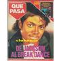 Michael Jackson Revista Que Pasa Agosto 1984 Edición Chile