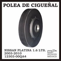 Polea Damper Cigueñal Clio Platina Vulcanizada 12303-00qaa