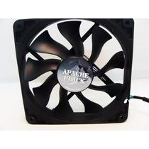 Cooler Fan Ventoinha Akasa Apache Black 12cm Pc Gamer