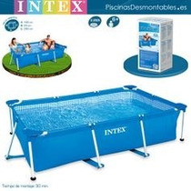 Piscina Intex Rectangular 3. X 2 X 75cm