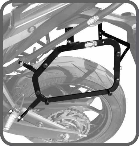 Suporte Ba Lateral Yamaha R3 Scam Para Bauleto Givi Monokey