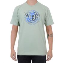 Camiseta Element Pack Logo Verde