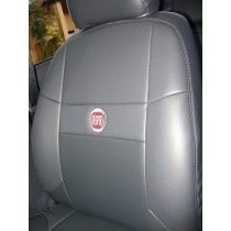 Capas Bancos Automotivo Couro P Fiat Uno Mille Fire 1.0 2002
