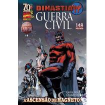 Marvel Especial 14 Dinastia M Guerra Civil Panini