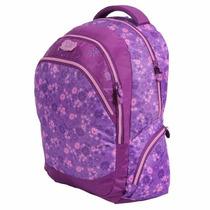 Mochila G Dermiwil Flowers Disney Violetta Feminino 60485