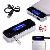 Transmissor Veicular Sem Fio Smartphone Iphone Pc Tablet