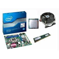 Kit Placa Mãe Intel+ Core I5 3470 3.6 Ghz + 4gb Ddr3