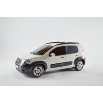 Fiat Uno Way Branco 1:18 Controle Remoto Seminovo
