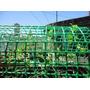Malla Pollito ,malla Plastica Verde Rollos De 1.05x 25mt