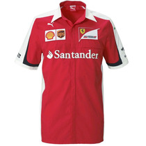 Camisa Del Equipo Scuderia F1 Ferrari Hombre 01 Puma 761670