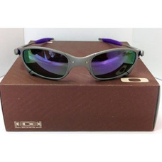 fd6fc8009 Juliet Squared Roxo - Óculos De Sol Oakley no Mercado Livre Brasil