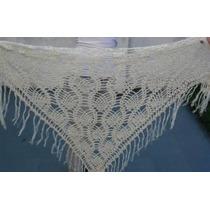 Chal Chalina Tejido Al Crochet Hilo Verano Dia De La Madre