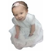 Vestido Bautismo Cortejo Fiesta Bebe Beba Nena