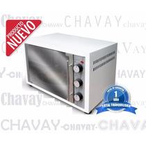 Horno Electrico Grill 48 Litros -blanco -2000w + Accesorio