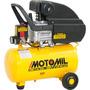 Compressor De Ar 7,6 Pés 24 Litros 220v Monofasico Motomil