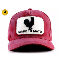Boné Jãum Jãum Rooster Made In Mato Vinho Selo Branco
