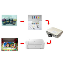 Kit Impressora Multifuncional Canon Para Papel De Arroz