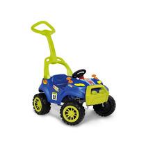 Carrinho Quadricículo Smart Car Azul Pedal - Bandeirante
