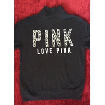 Polera Pink Victoria Secret Extra Small Afranelada Mujer Xs