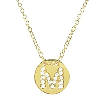 Wrapables gold plated initial letter pendant necklace lette wrapables gold plated initial letter pendant necklace lette 89705 en mercado libre aloadofball Images