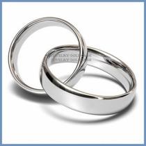 Elegantes Argollas Matrimoniales En Plata Envio Gratis