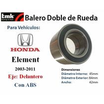 Balero Doble De Rueda Honda S2000 Abs 2000-2009 Delantero