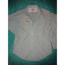Camisa Levi´s One Pocket Rayada Hombre...importada! Talle M