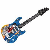 Guitarra Infantil Luxo Radical Hot Wheels Mt505a Hw Fun
