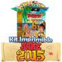 Jake Y Los Piratas Nunca Jamas 2015 Mega Kit Imprimible