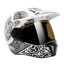 Capacete Moto Bieffe 3 Sport Maori Branco Lançamento 56 S