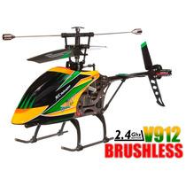 Robinho Aeromodelismo Helicóptero V912 Bruslhess Rtf