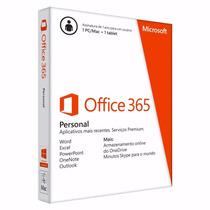 Pacote Office 365 Personal Original E Lacrado