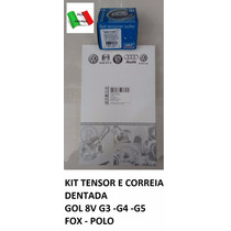 Kit Correia E Tensor Dentada Gol 8v G3/g4/g5 - Fox - Polo