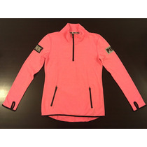 Pink By Victorias Secret Buzo Fucsia Mujer Levhe Importados