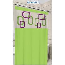 Cortina Box P/ Banheiro 100% Pvc C/ Kit Instalação (gancho)