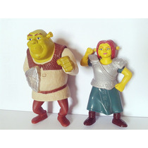 Lote Mc Donalds Shrek - Fiona E Shrek - Mc Lanche Feliz