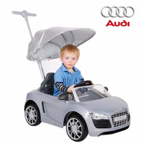 Audi Push Car Montable Guiado Para Bebe Con Sombrilla